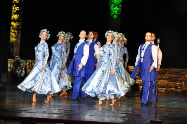 Театр танца композиция Украина