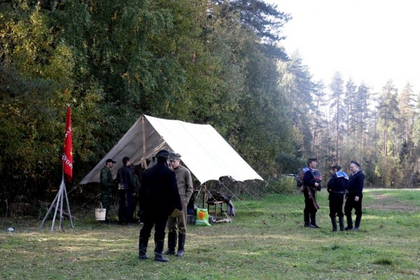 лагерь красных