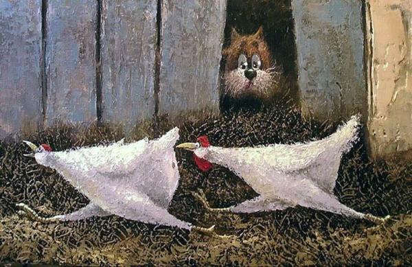 Как курицы несуццо