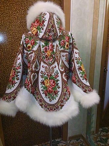 Изделия из платков павлопосадских своими руками
