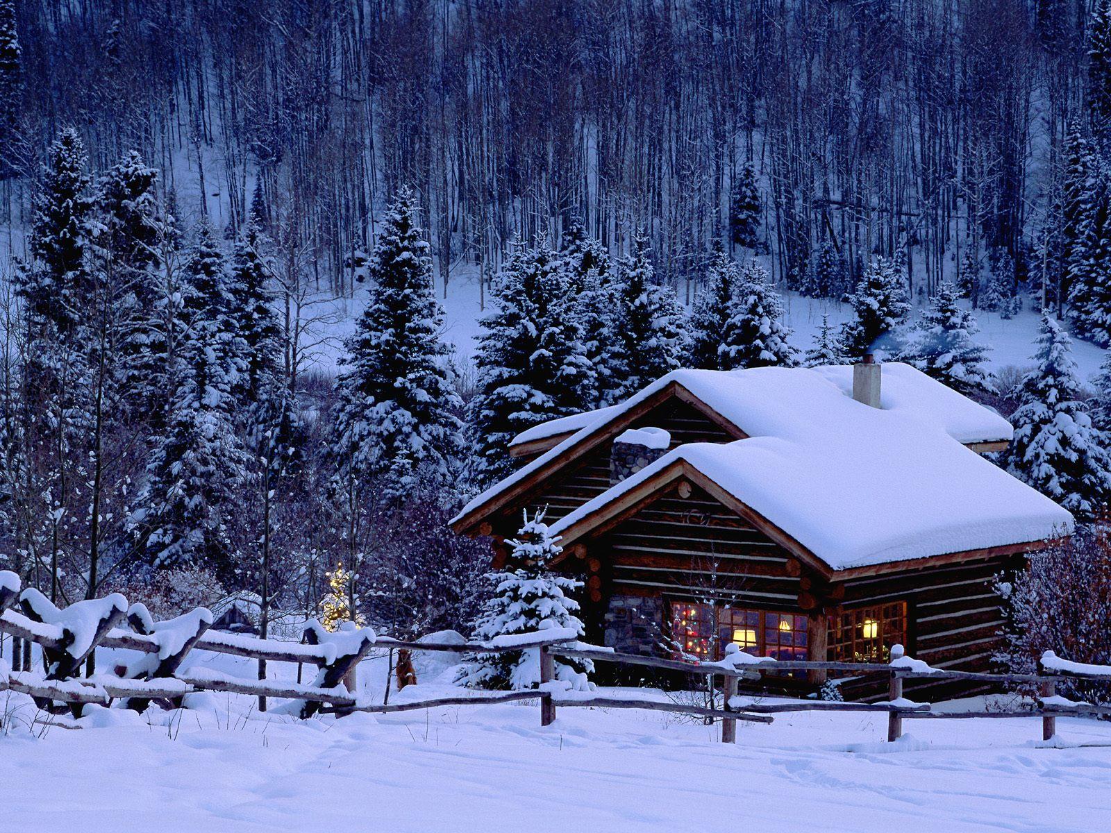 домик-зима