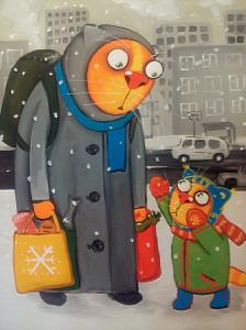 Вася Ложкин - коты