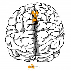 застёгнутый мозг