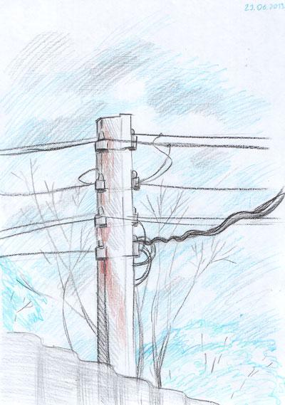 Тема: уличное электричество