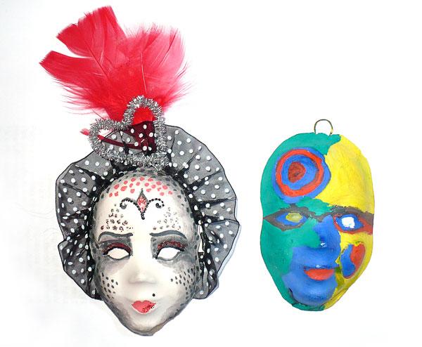 С мастеркласса по венецианской маске