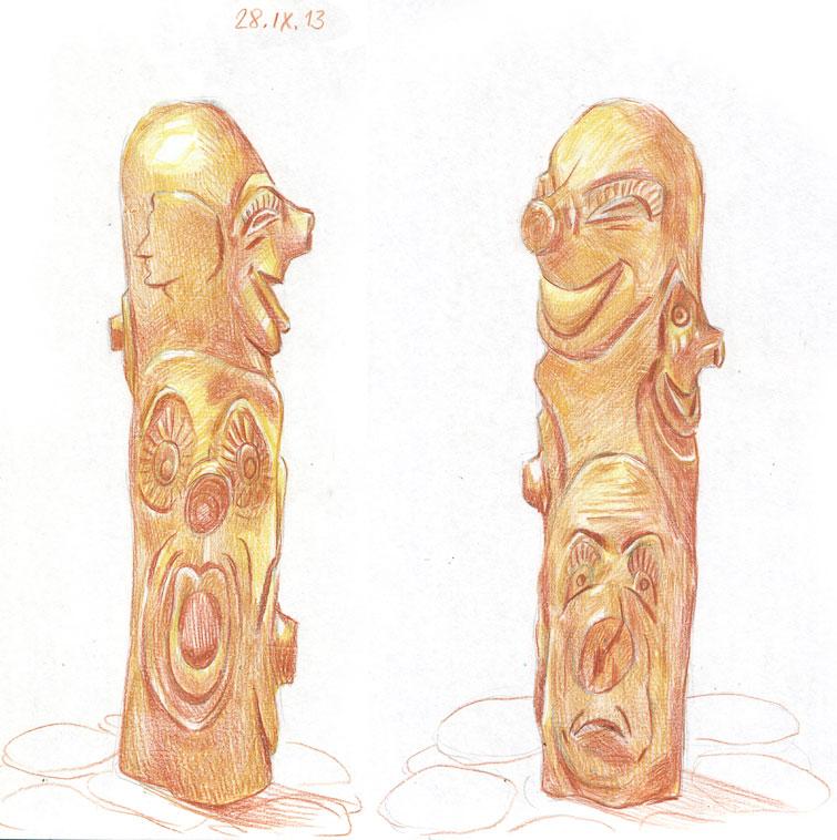 Тема: деревянные предметы