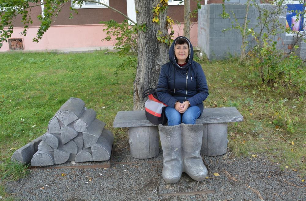 Вернулась из Сибири.