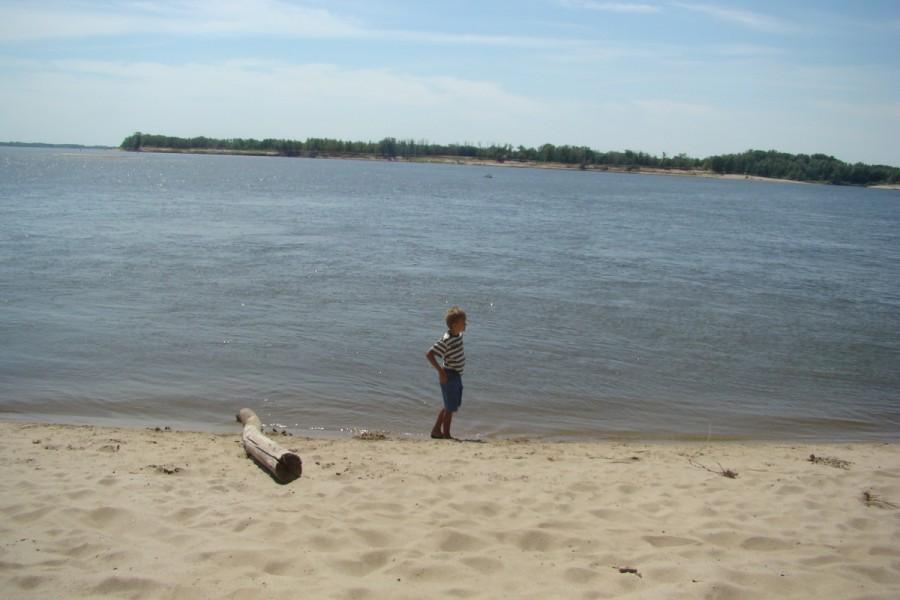 на реке Ахтубе