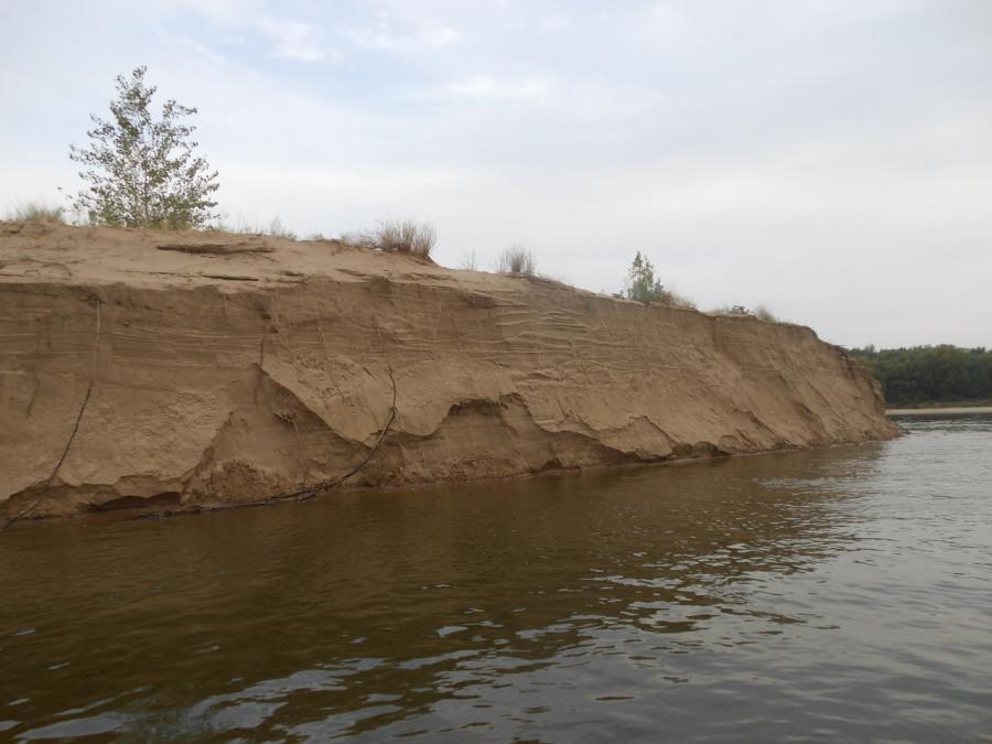 Песчаные берега.