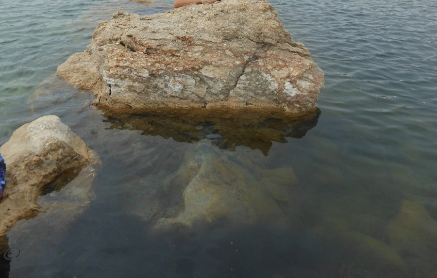 Мраморное озеро.