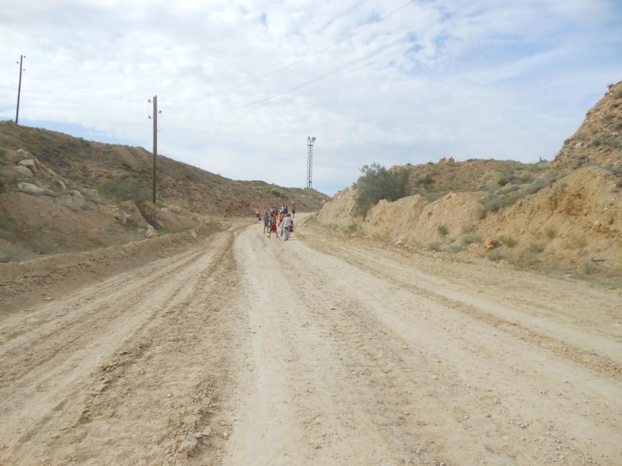 Дорога на мраморное озеро.
