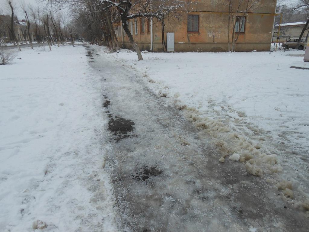 Дороги в Ахтубинске.