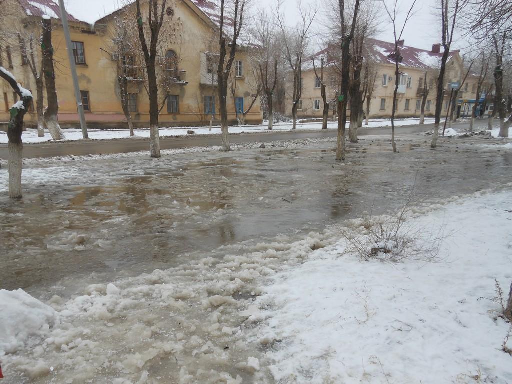 Зима в Ахтубинске.