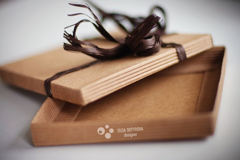 Подарочная упаковка для дисков