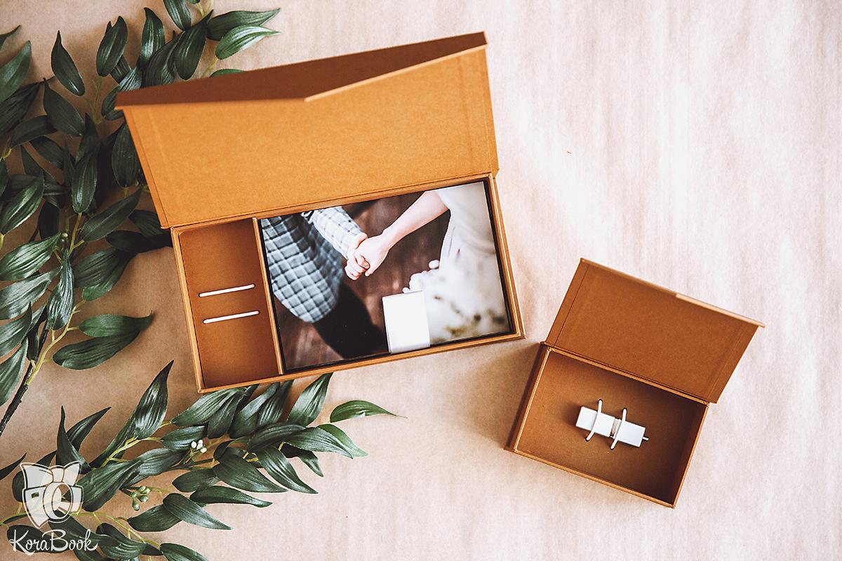 Как украсить коробку фотографиями