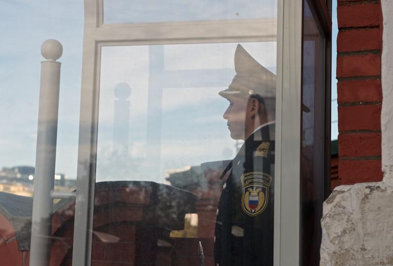 Курсанты кремлёвского полка