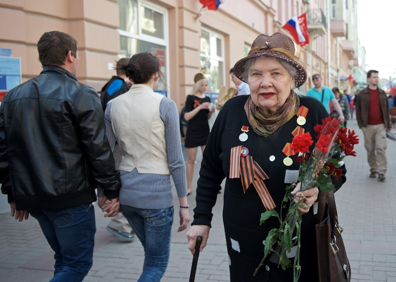 Moscow is celebrating Victory Day