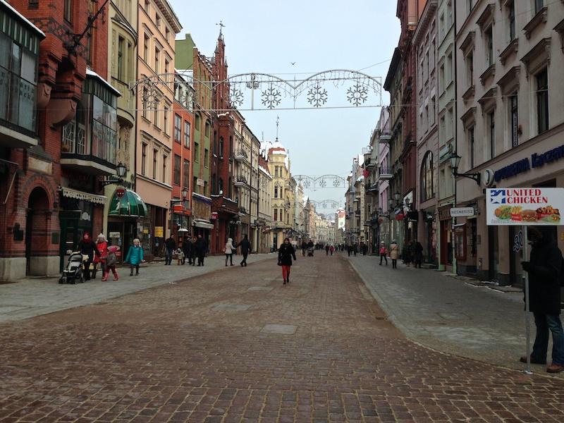 Центральная улица Торуня