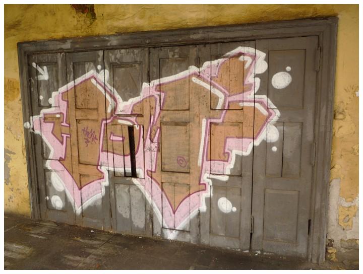 Изрисованные двери