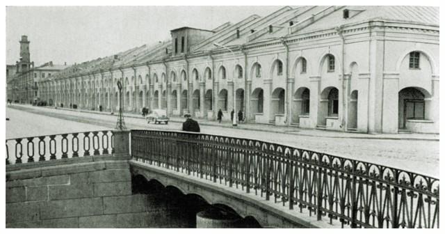 Вид от Старо-Никольского моста
