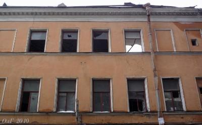 Фасадъ со стороны Щербакова переулка.