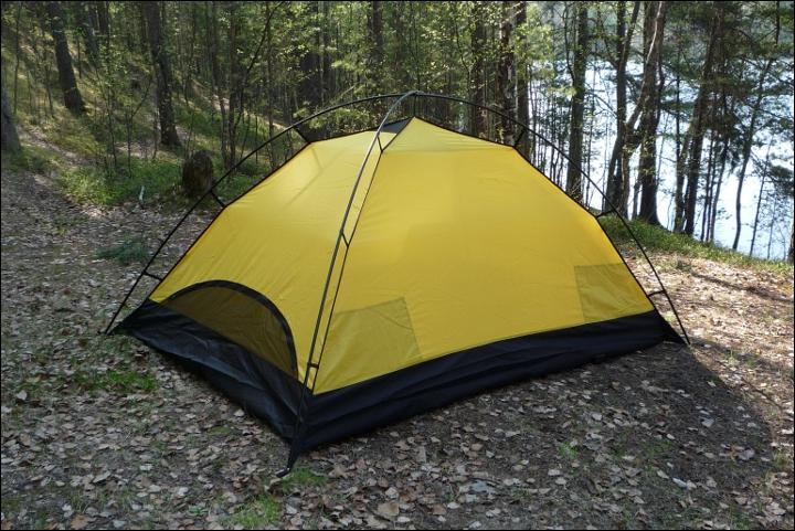 Внутренняя палатка собрана