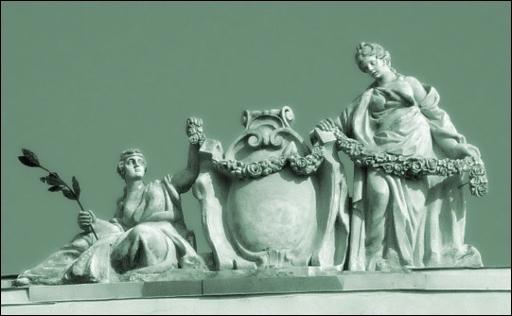 Скульптура на домѣ Бецкаго