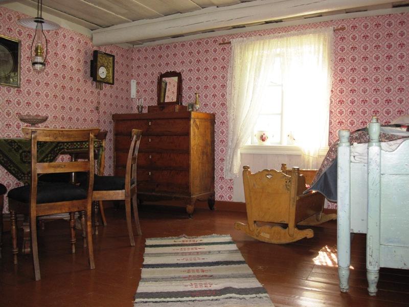 Вот дом примерно конца XIX века