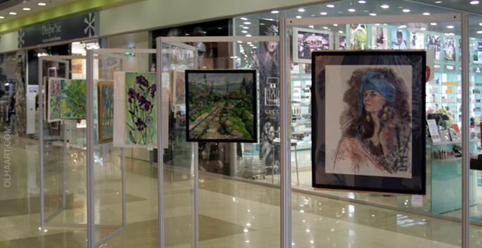 Выставка в Экваторе, осень 2012
