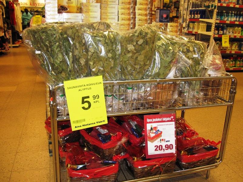 Нынешняя цена на веник 5.99 евро в два раза выше, чем в прошлом году