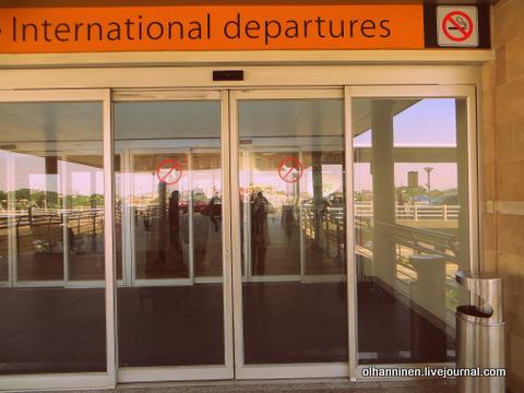 05 международные вылеты в аэропорту Гуаякиля
