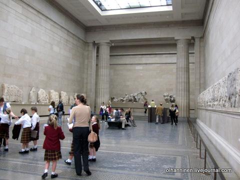 дети в Британском музее