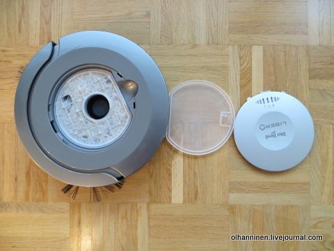 01 проблема фильтра робота пылесоса