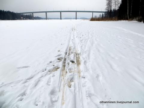 08 лыжня на озере