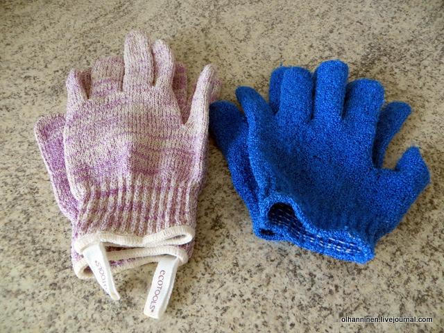 01 скрабовые перчатки