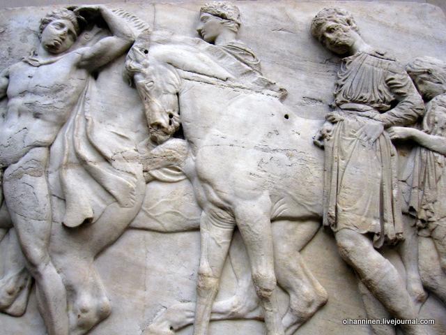 XLVII Северный фриз Парфенона. Лондон. Британский музей