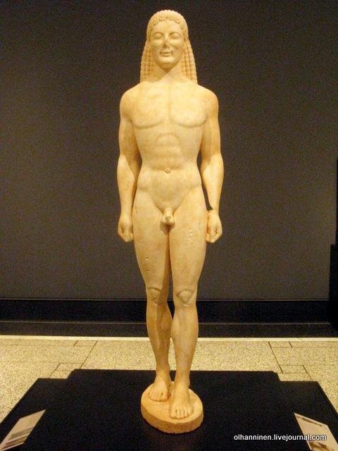 03 курос 530 до н.э. Вилла Гетти, США