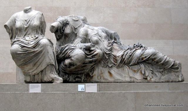 Диона, Афродита пигмент на статуях богов