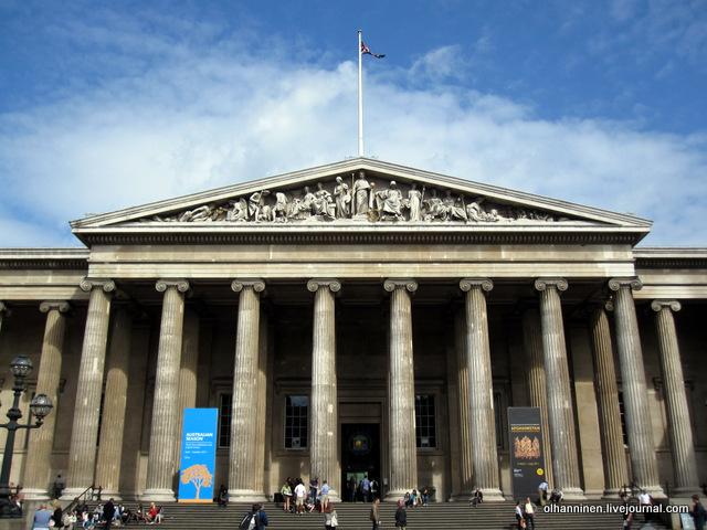 парфенон Британский музей 2