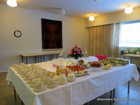 23 праздничный стол