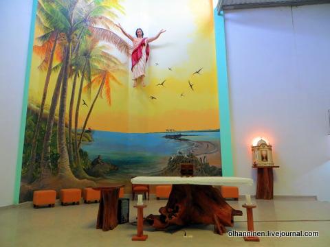 02 алтарь и роспись Христос над Галапагосами