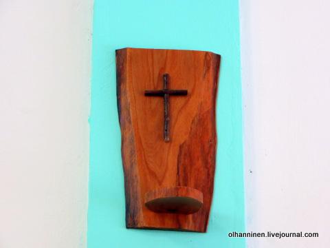 26 деревянный подсвечник