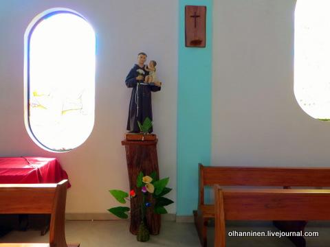 33 статуэтка святого с ребенком