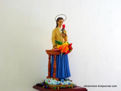 35 статуэтка святой