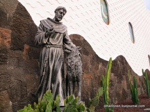 41 памятник святому с собакой