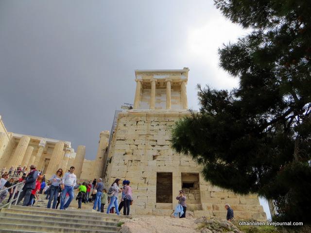 Храм Ники Аптерос Пропилеи