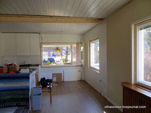 кухня со стороны гостиной
