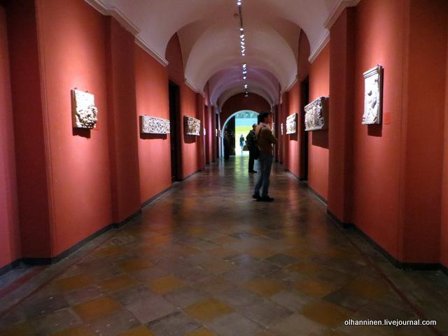 10 через коридор в Древнюю Грецию и Рим