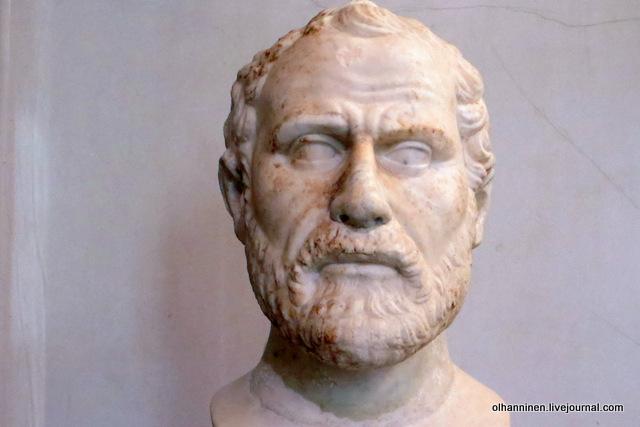 19 Демосфен, оратор, политик 384 - 322 г до нэ римская работа II в по оригиналу первой половины  III в до