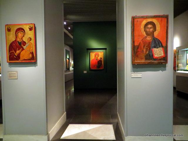 Музей Бенаки старинные иконы